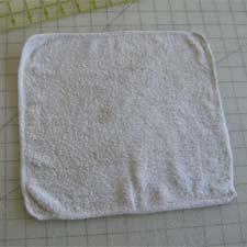 Old washcloth
