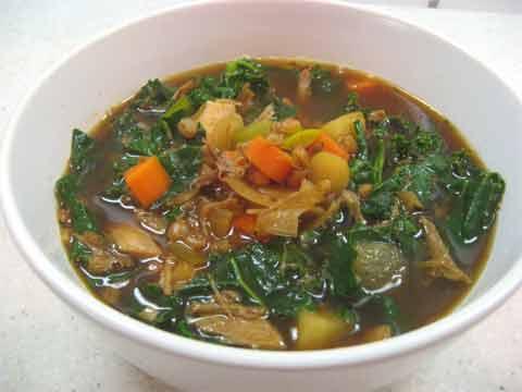 Duck Duck Goose soup