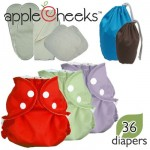 Apple Cheeks cloth diaper package