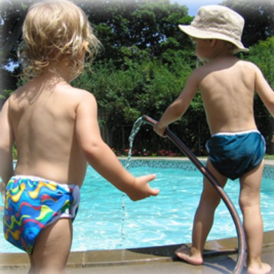 Mother-ease Swim Diapers Poolside