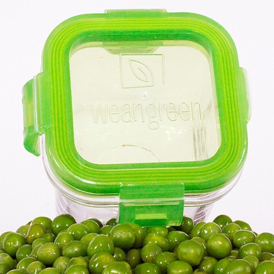 Wean Cubes glass baby food jars