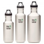 Klean Kanteen aluminum water bottles