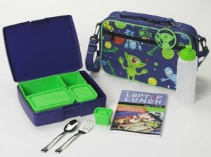 Laptop Lunch bento box alien