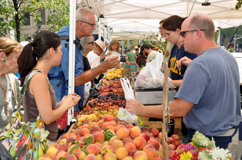 Farmers' Markets build healthy communities