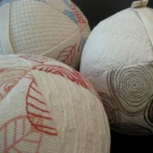 Organic toy balls