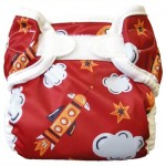 Bummis Super Whisper Wrap rocket print