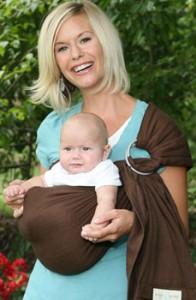 Maya Wrap baby ring sling