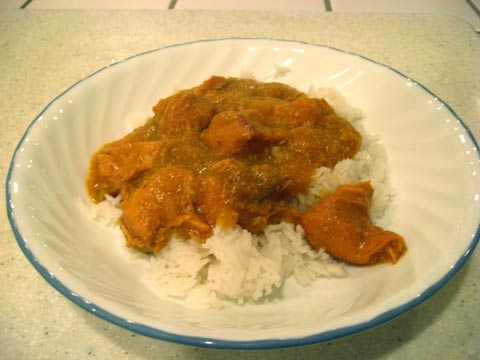 Slow-cooked Curry