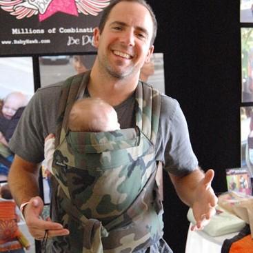 BabyHawk Baby Carrier Cammo