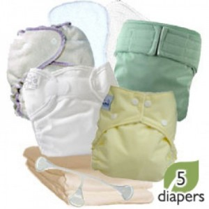 Cloth diaper sample package