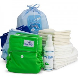 Happy Heinys cloth diaper starter kit