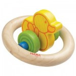 HABA wooden clutch toy duck