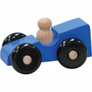 Wooden Mite Sports Car