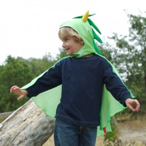 Silk dragon costume for kids