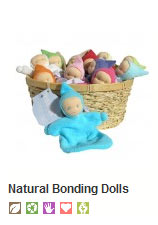 Positive Development bonding dolls for babies