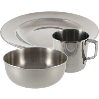Stainless Steel Dishes for Children