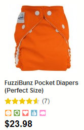 Fuzzi Bunz perfect size diapers