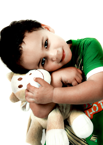 Child with Soft Toy