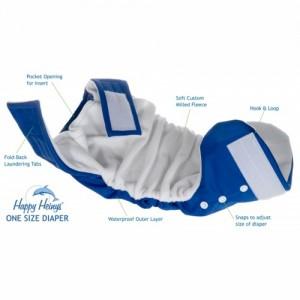 Happy Heiny pocket diaper open