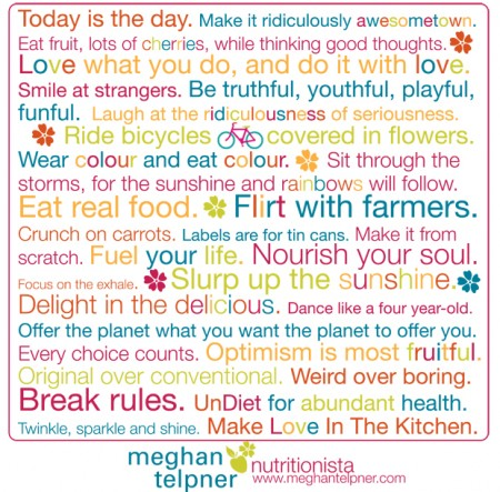 Meghan Telpner creed