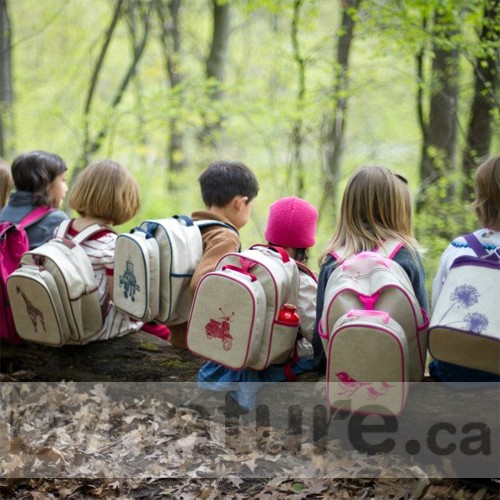 Young children wearing SoYoung Mother Backpacks