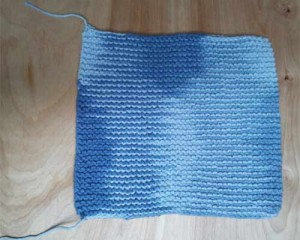 Wash cloth with tails