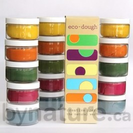 eco dough play clay for children