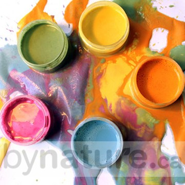 All natural eco finger paints