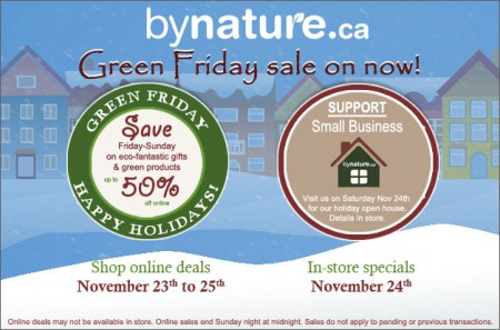 Green Friday Sales online and in-store