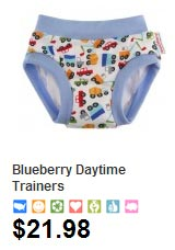 Blueberry training pants