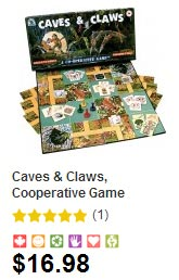 Cooperative Board Game Caves and Claws