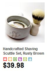 Handmade Shaving Set