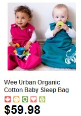 Wearable blanket sleep sack for baby