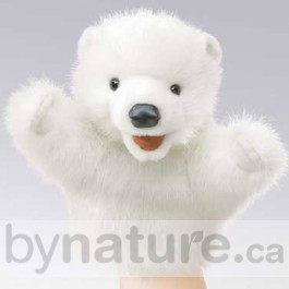 Polar Bear Puppet for Kids
