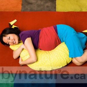 Natural buckwheat pregnancy pillow