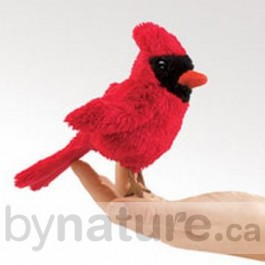 Mini Red Bird Finger Puppet
