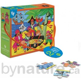 Port Side Pirate Puzzle for Children