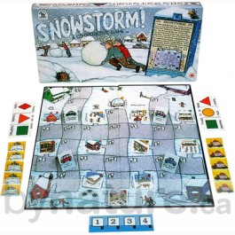 Snowstorm cooperative game for kids