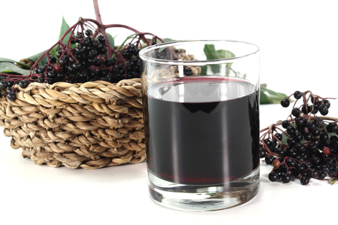 Elderberry juice boosts immunity