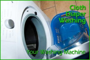 Cloth diaper washing machine