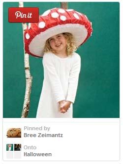 Easy mushroom Halloween costume