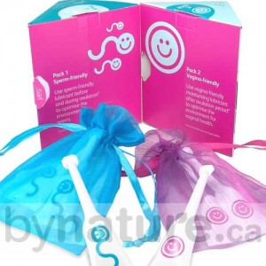 Yes Baby lubricant kit safe for conception