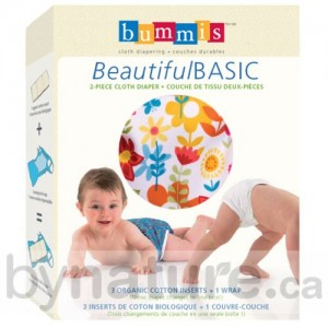 Bummis Beautiful Basic cloth diaper package