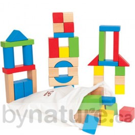Maple wood blocks toy