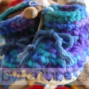 Kids wool slippers by Padraig
