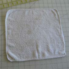 Old washcloth