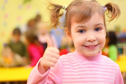 First Day of Kindergarten is OK!