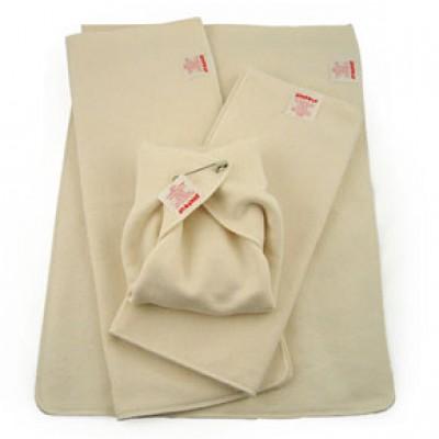 Hemp cotton prefold cloth diapers