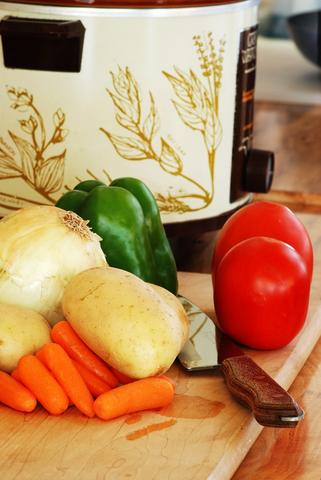 Slow Cooker Meal Ingredients