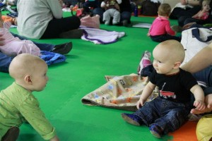 Babies at the Great Cloth Diaper Change
